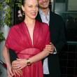 Debi Mazar and husband Gabriele Corcos — ストック写真