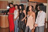 Reggie Hayes, Jill Marie Jones, Persia White, Golden Brooks and Tracee Ellis Ross — Stock Photo