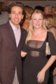 Howie Dorough and Melissa Joan Hart — Stock Photo
