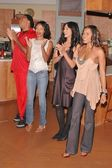 Reggie Hayes, Jill Marie Jones, Persia White and Golden Brooks — Stock Photo