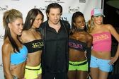 Federico Castelluccio and Von Dutch models — Stock Photo