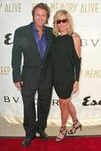 Vince Van Patten and Eileen Davidson — Stock Photo