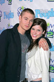 Chad Michael Murray and Sophia Bush — Stock Photo