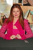 Debra Messing — Foto de Stock