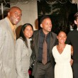 Magic Johnson, Cookie Johnson, Will Smith, Jada Pinkett Smith and Jim Caviezel — Stock Photo