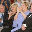 Stock Photo: Dick VPatten and wife Pat with Jand Mickey Rooney