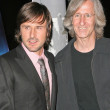 David Arquette and Mick Garris — Stok fotoğraf