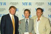Mark Burnett, Billy Bush and Donald Trump — Stock Photo