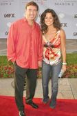 Dr. Garth Fisher and Brooke Burke — Stock Photo