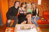 Jeff Peldon, Ashley Peldon, Courtney Peldon and Wendy Peldon — Stock Photo