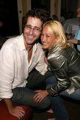 Richard Gunn and Jennifer Blanc — Foto de Stock