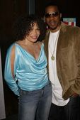 Duane Martin and Tisha Campbell — Stock Photo