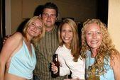 Kym Jackson, Joey Capuccino, Ashley Jensen and Darla Rothman — Stock Photo