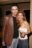 Carl Hirsch and Jenna Mattison — Stock Photo