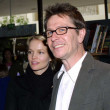 Gary Oldman and his girlfriend Ailsa Marshall — Stok fotoğraf