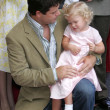 Sean Astin and daughter Elizabeth — Stock Photo