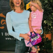 Melinda Clarke and daughter Catherine Grace — Stock Photo #17313613