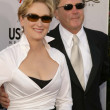 Meryl Streep and husband Donald Gummer — Stock Photo