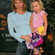 Melinda Clarke and daughter Catherine Grace — Stock Photo