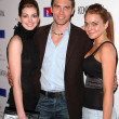Stock Photo: Anne Hathaway, Anson Mount and Lindsay Lohan
