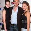Anne Hathaway, Anson Mount and Lindsay Lohan — Stock Photo