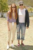 Page Hannah and Daryl Hannah — Stock Photo