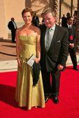 William Shatner and wife Elizabeth — Stock Photo