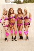 Rachel Myers, Christy Hemme, Karen Cogz and Lana Kinnear — Stock Photo