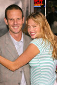 Peter Berg and Estella Warren — Stock Photo