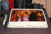 """The 100th Episode of """"Girlfriends"""" cake — Stock Photo"""