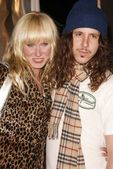 Kimberly Stewart and Cisco Adler — Stock Photo