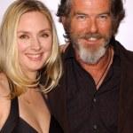 ������, ������: Hope Davis and Pierce Brosnan
