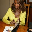 Iman In Store Appearance — Stock Photo