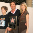 Dennis Quaid with wife Kimberly and son Jack - Stock Photo