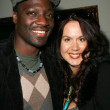 Adewale Akinnuoye-Agbaje and Fileena Bahris - Foto Stock