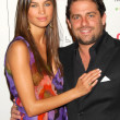 Постер, плакат: Alina Puscau and Brett Ratner at the Cosmopolitan Fun Fearless Male Awards Day After Hollywood CA 02 13 06