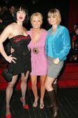 Joanie Laurer with Katie Lohmann and Rena Riffel — Stock Photo
