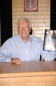 President Jimmy Carter Book Signing — Stock Photo