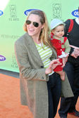 Mary McCormack and daughter Margaret — Stock Photo