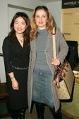 Christine Kuo of Moonsus and Julie Delpy — Stock Photo