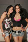 Myisha Lee and Karen Miller — Stock Photo