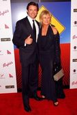 Hugh Jackman and Deborra-Lee Furness — Stock Photo