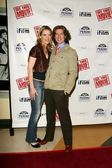 Missi Pyle and Josh Meyers — Stock Photo