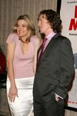 Missi Pyle and Josh Meyers at the KROQ Valentines Day Singles screening of Date Movie. AMC Avco Cinemas, Westwood, CA. 02-13-06 — Stock Photo