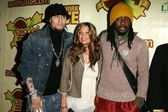 Taboo with Fergie and Will I Am at The Peapod Concert Benefit presented by The Peapod Foundation and Network Live. Henry Fonda Music Box Theater, Los Angeles, CA 02-06-06 — Stock Photo