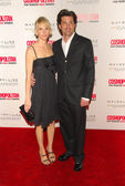 Patrick Dempsey and wife Jill at the Cosmopolitan Fun Fearless Male Awards. Day After, Hollywood, CA 02-13-06 — Stock Photo