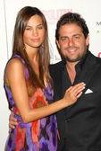 Alina Puscau and Brett Ratner at the Cosmopolitan Fun Fearless Male Awards. Day After, Hollywood, CA 02-13-06 — Stock Photo
