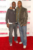 Nashawn Kearse and Mehcad Brooks at the Cosmopolitan Fun Fearless Male Awards. Day After, Hollywood, CA 02-13-06 — Stock Photo