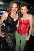 Tasha Dixon and Alicia Arden — Stock Photo