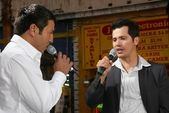 Leo Quinones and John Leguizamo — Stock Photo